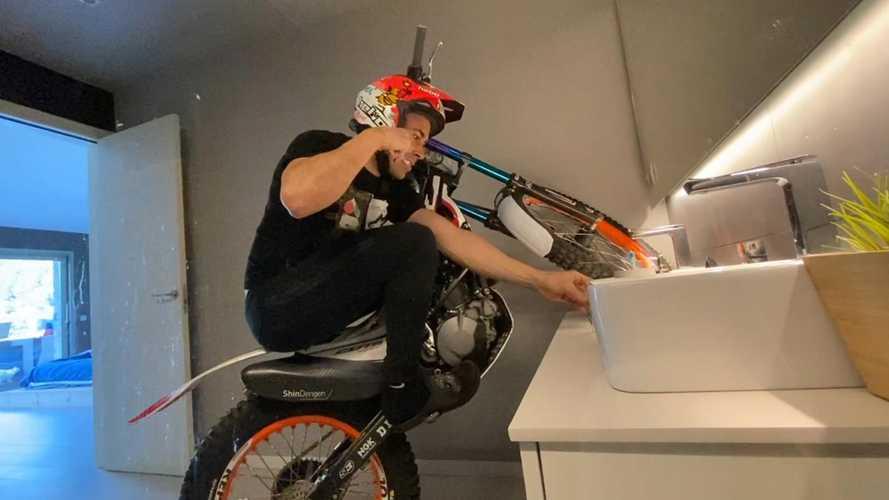 Il Coronavirus non ferma il campione di trial Toni Bou [VIDEO]