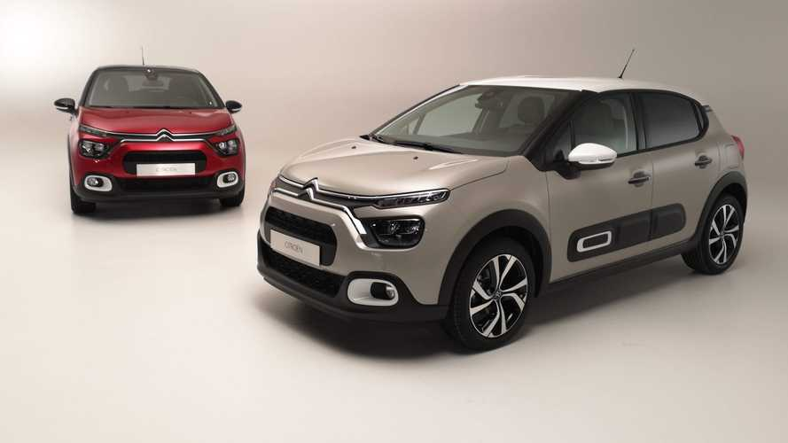 Citroën C3 restylée (2020) photos studio