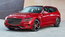 Genesis G70 wagon renderings