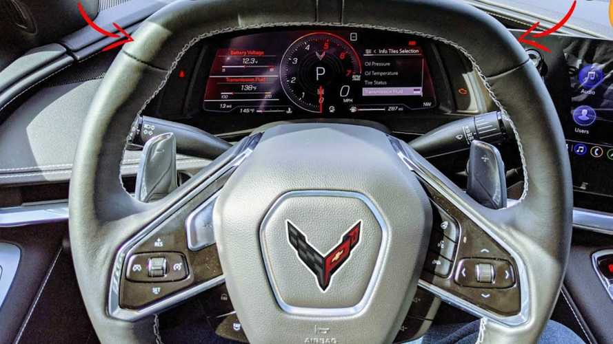 Video Of Mid-Engined Chevy Corvette Analyses 2LT Interior