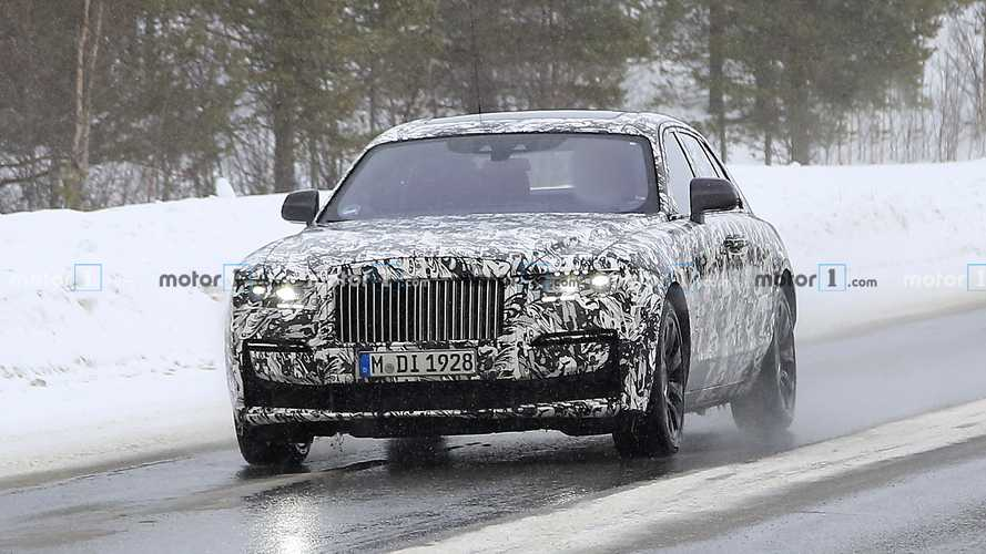 Rolls-Royce Ghost 2021, fotos espía