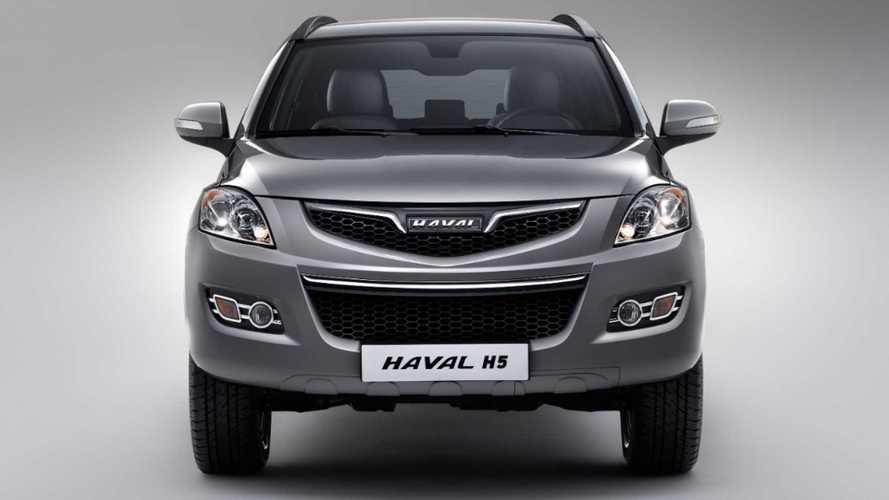 Китайский внедорожник Haval H5 оценили в рублях