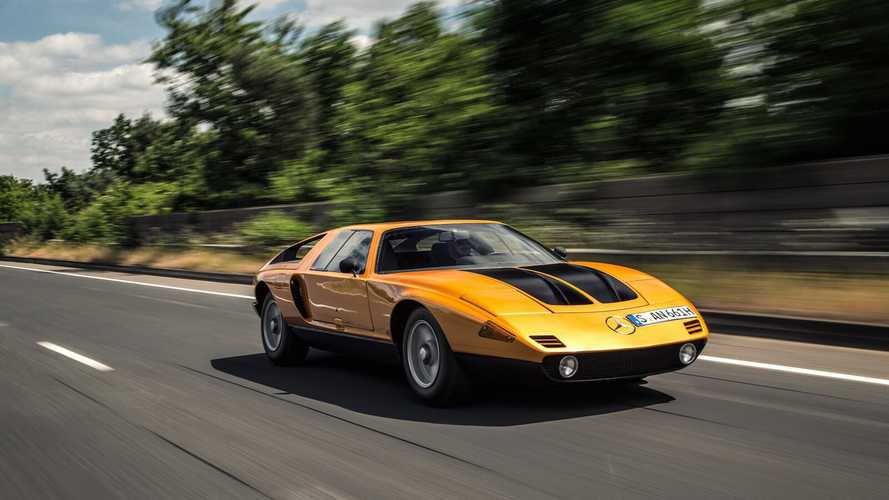 Driven: On the road in the Mercedes-Benz C111 II