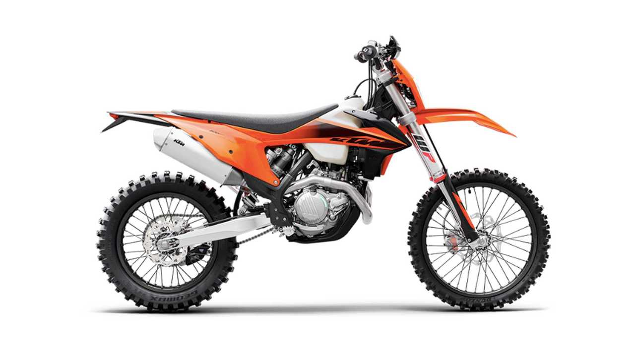 2020 KTM 350 And 500 XCF-W
