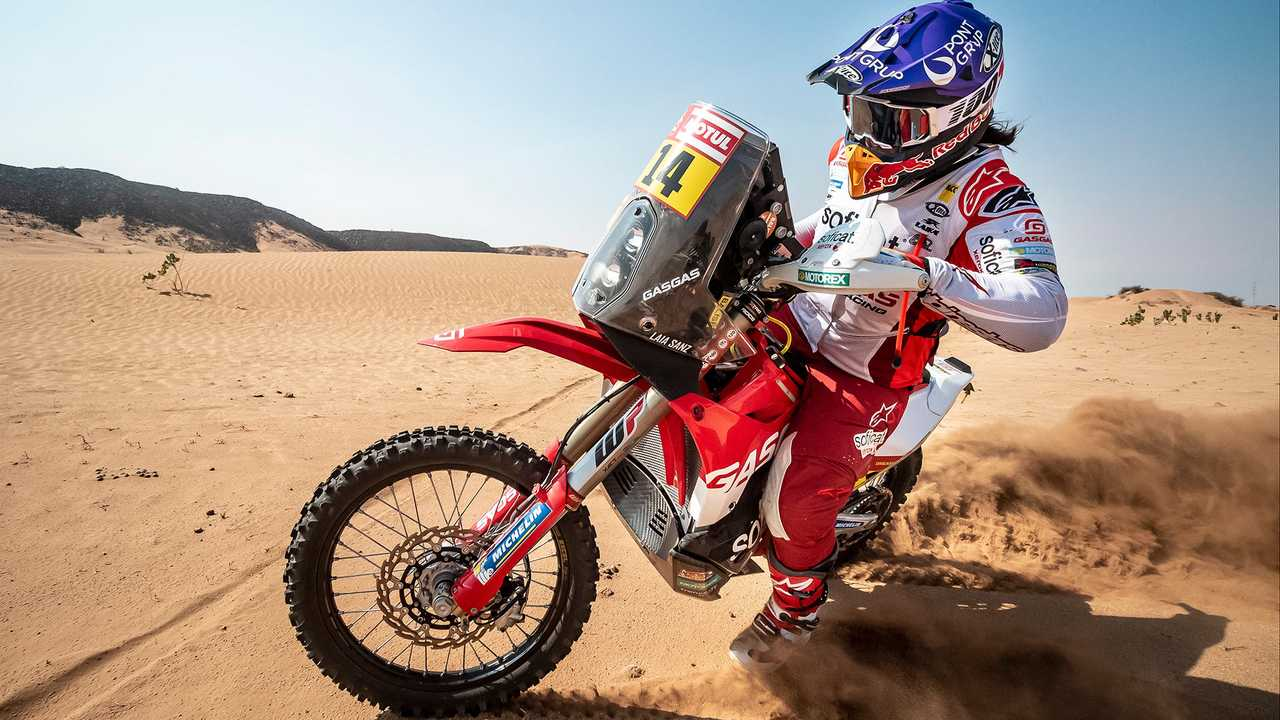 GasGas RC 450F Laia Sanz Dakar