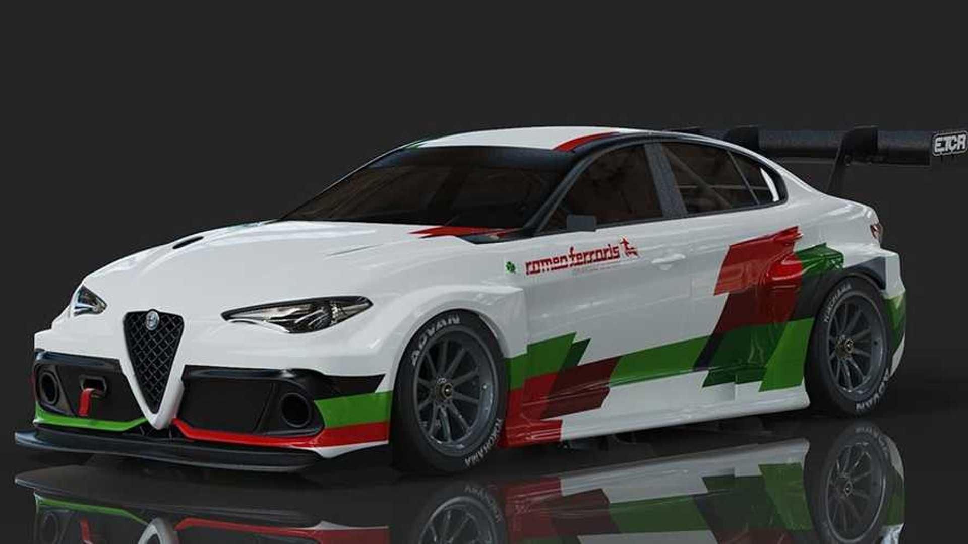 Electric Alfa Romeo Giulia debuts ahead of going racing in 2020