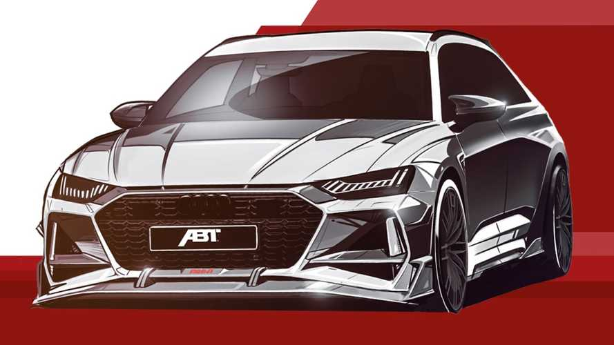 2021 Audi RS6 Avant Looks Menacing With ABT RS6-R Treatment