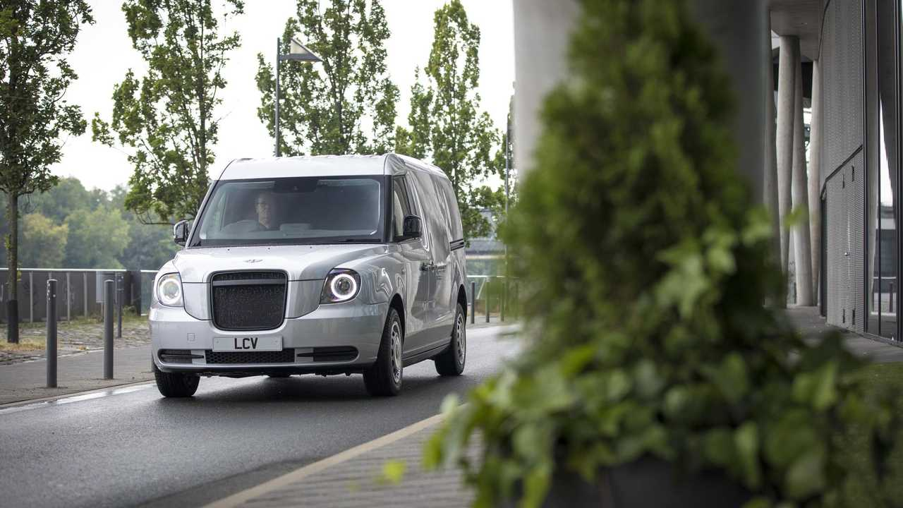 LEVC light commercial van