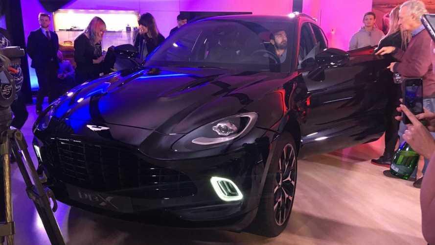 Первый кроссовер Aston Martin добрался до России: известна цена