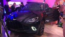 Российская премьера Aston Martin DBX