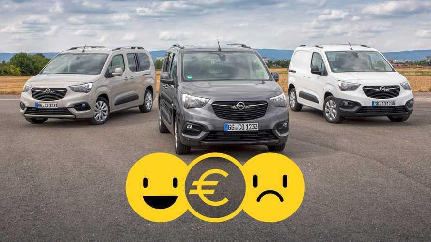 Promozione Opel 2020, un bonus pack per Combo, Vivaro e Movano