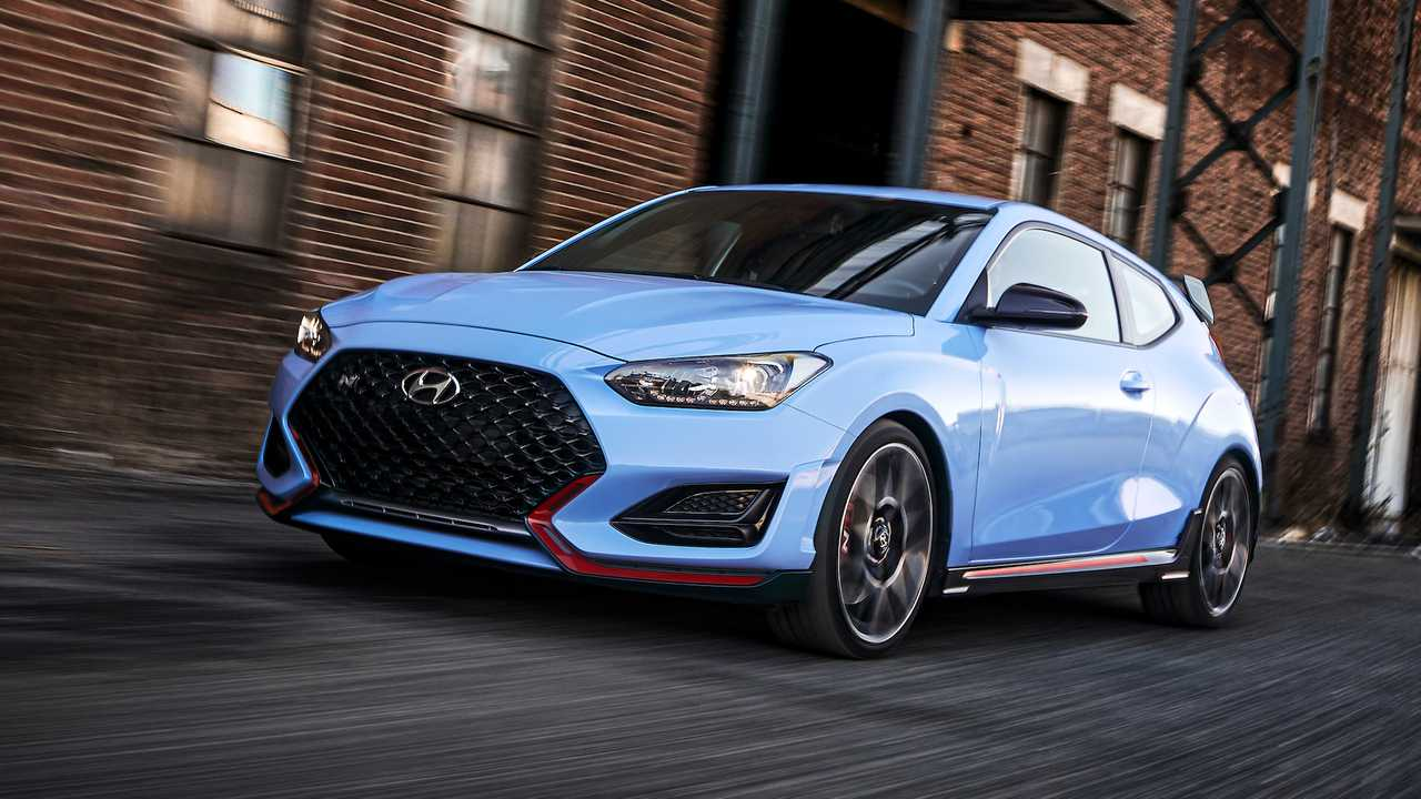 2020 Hyundai Veloster N with 8-Speed Wet N DCT