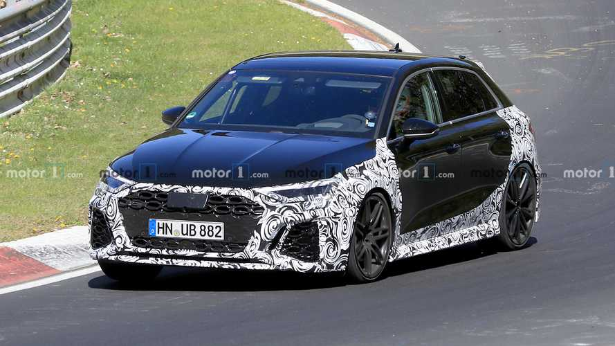 VIDÉO - La nouvelle Audi RS 3 Sportback s'entraîne sur le Nürburgring