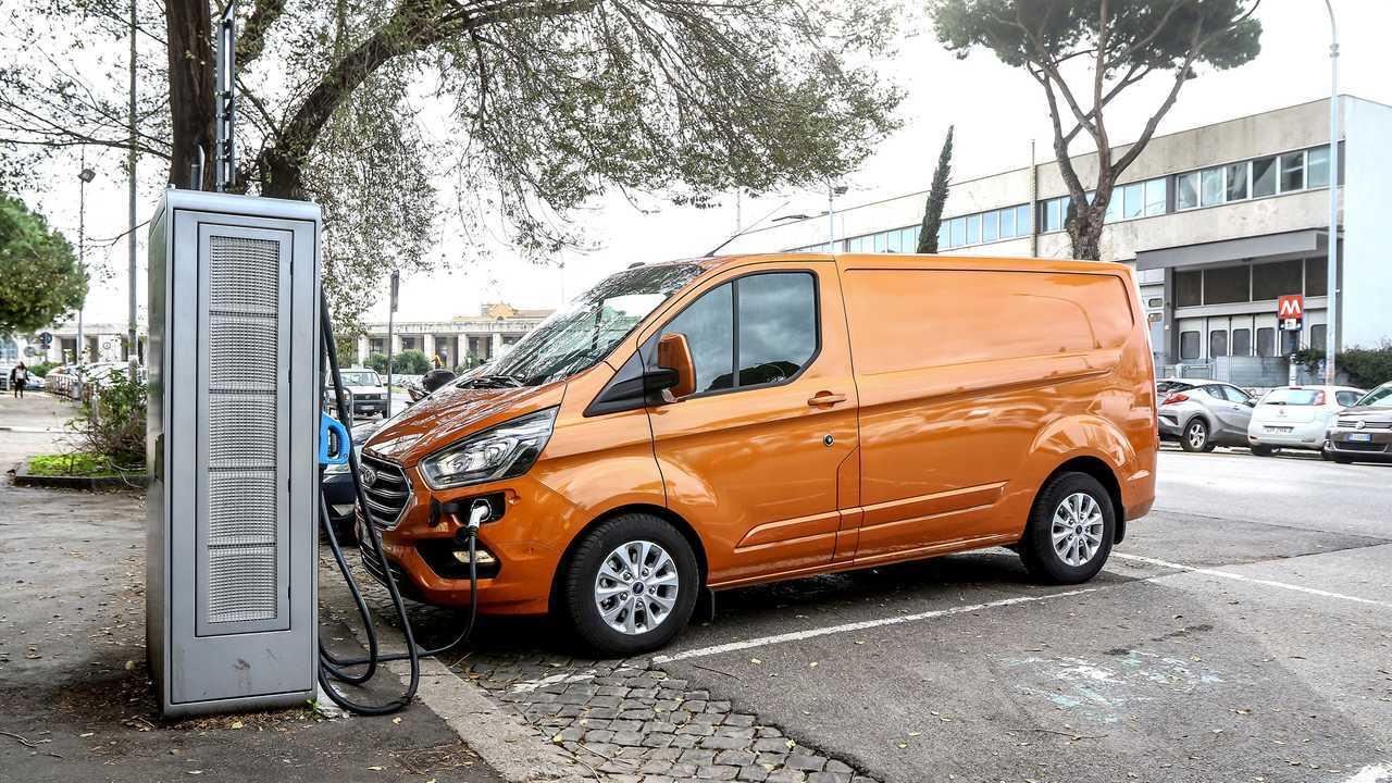 2020 Ford Transit Custom plug-in hibrit (PHEV)