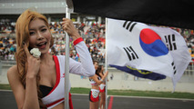 Grid girl 16.10.2011 Korean Grand Prix