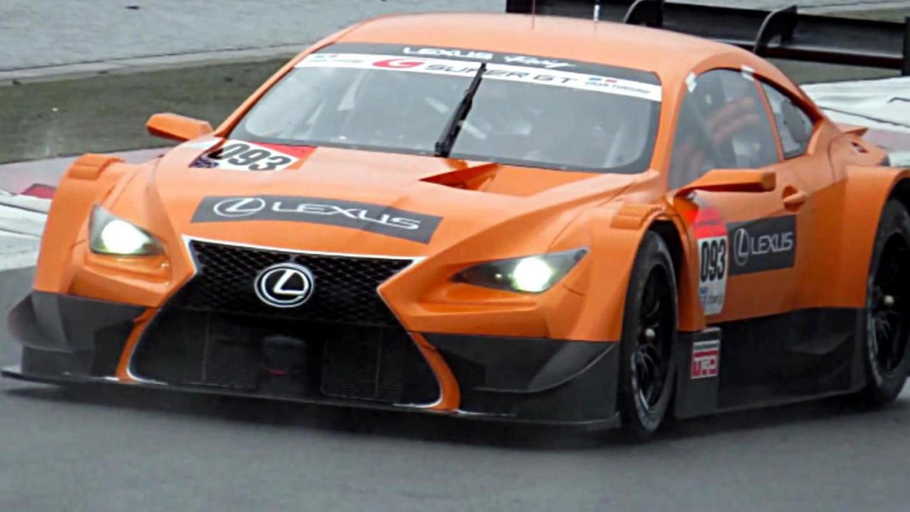 Lexus race car
