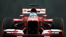 Ferrari F138 front pullrod suspension view 23.08.2013 Belgian Grand Prix