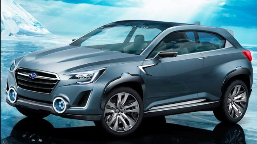 Subaru Viziv 2 concept: ibrida e integrale
