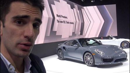 Nuova Porsche 911 Turbo, tutto inizia a Detroit [VIDEO]