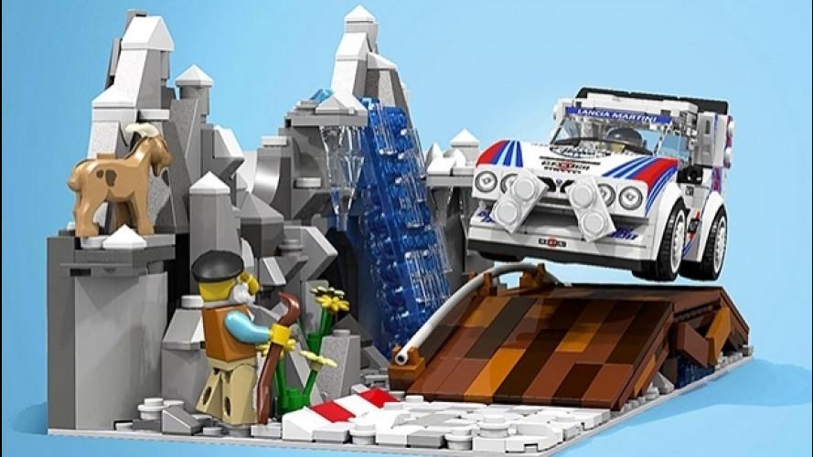 Lancia Delta S4, una proposta per trasformarla in Lego