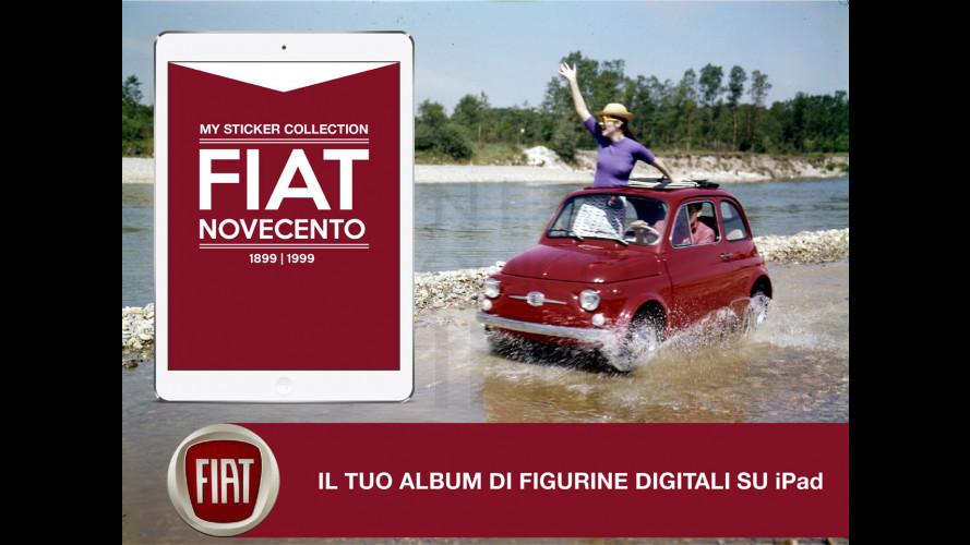 Fiat Novecento, cent'anni di figurine sull'iPad