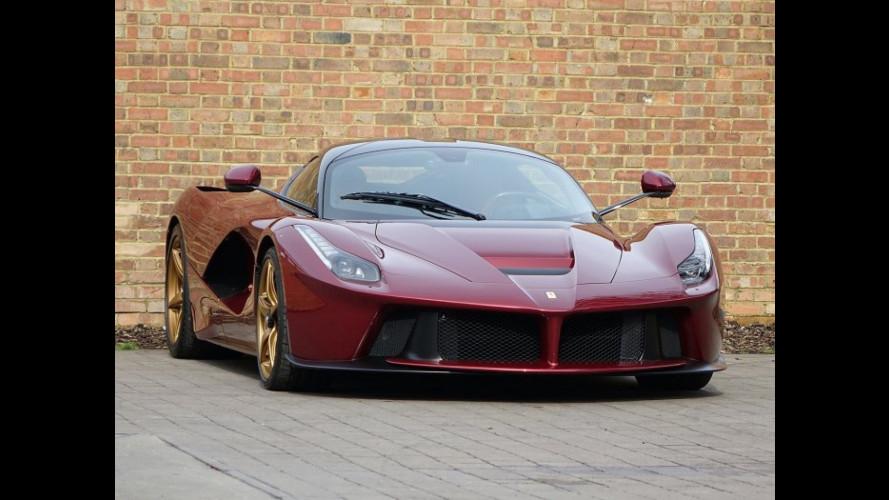 """Ferrari LaFerrari, 3,2 milioni di euro per quella in """"Rosso Rubino"""""""