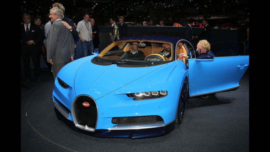 Bugatti Chiron, 1.500 CV visti dal vivo [VIDEO]