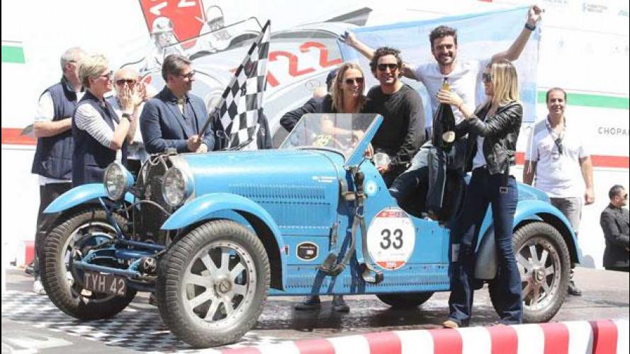 [Copertina] - Mille Miglia, vincono Tonconogy-Berisso su Bugatti