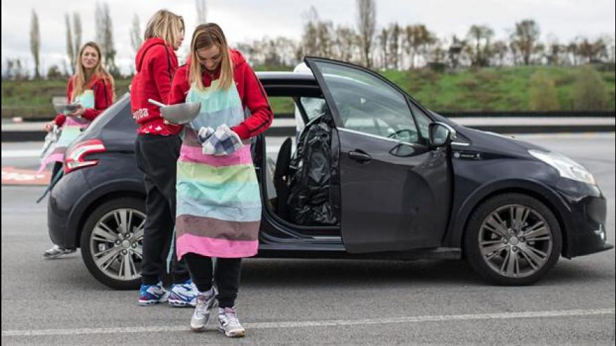 Peugeot 208 XY come una cucina: una prova incredibile