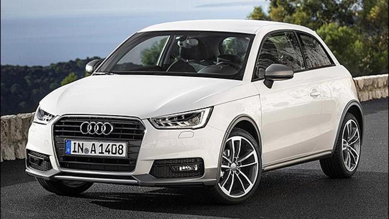 [Copertina] - Audi A1 1.0 TFSI ultra, dowsizing di lusso da 18.200 euro