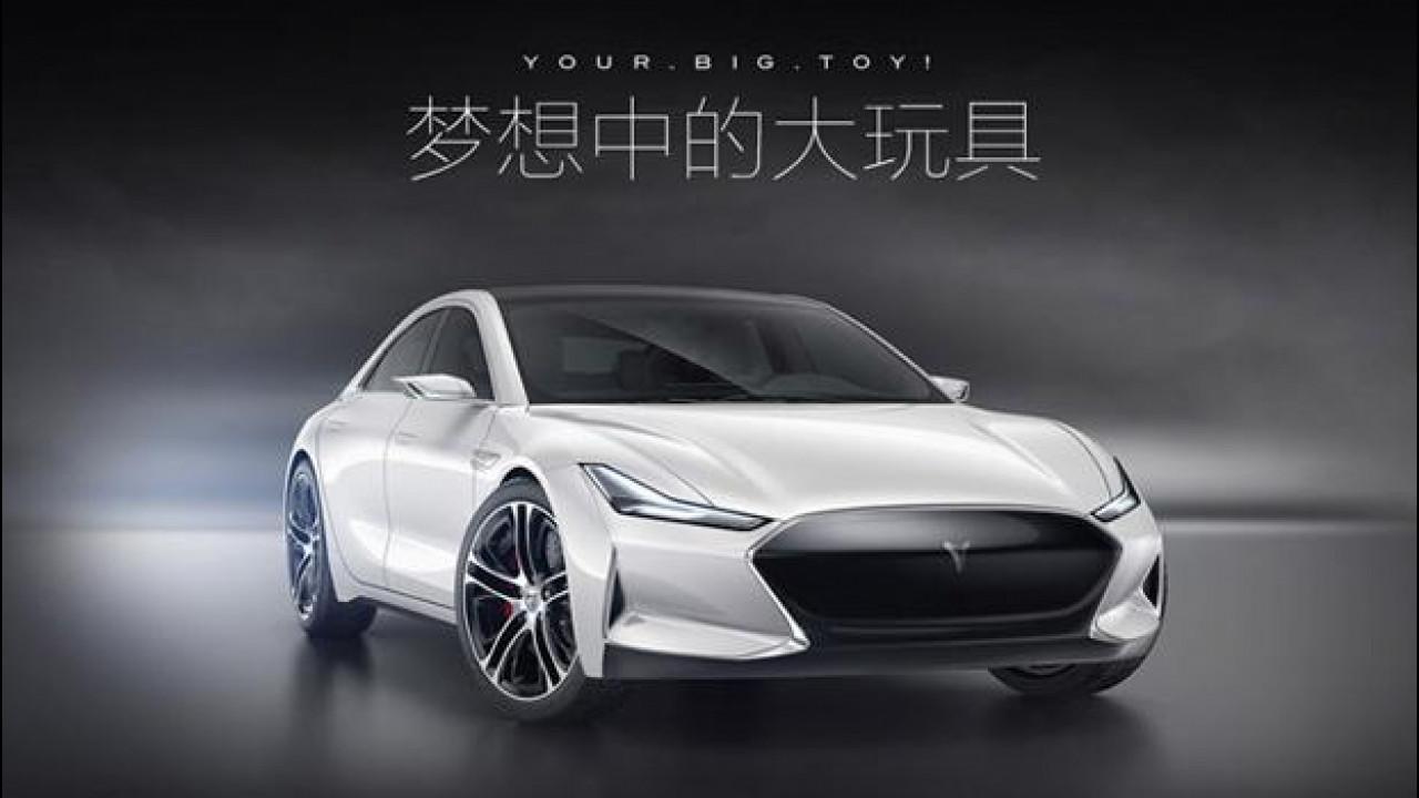 [Copertina] - Tesla Model S, è pioggia di cloni cinesi [VIDEO]