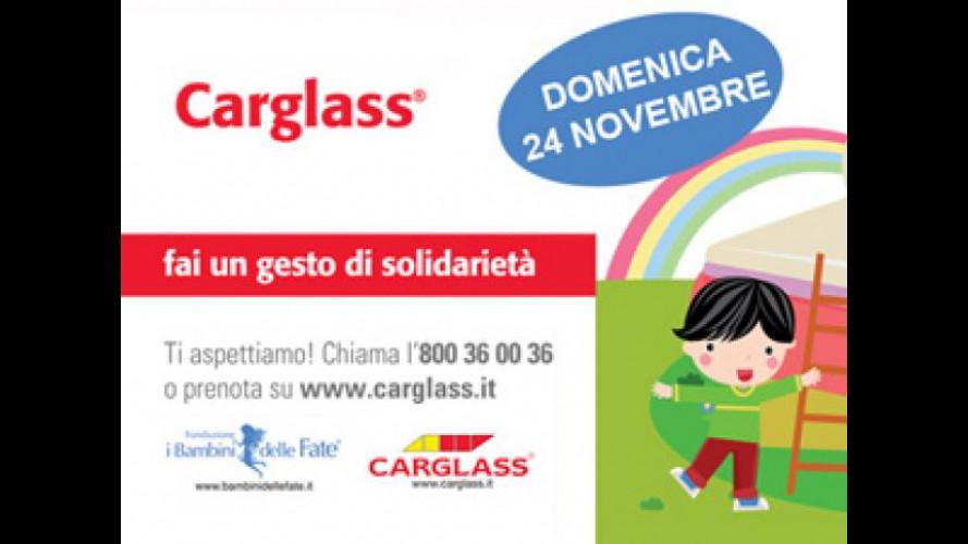 Carglass devolve in beneficenza tutto il ricavato del 24 Novembre