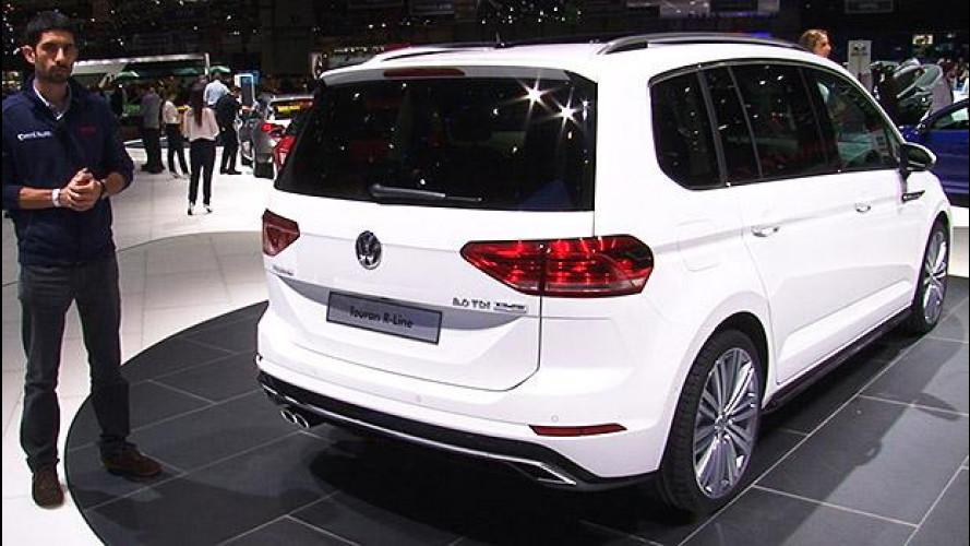 Salone di Ginevra: Volkswagen Touran e la riscossa delle monovolume
