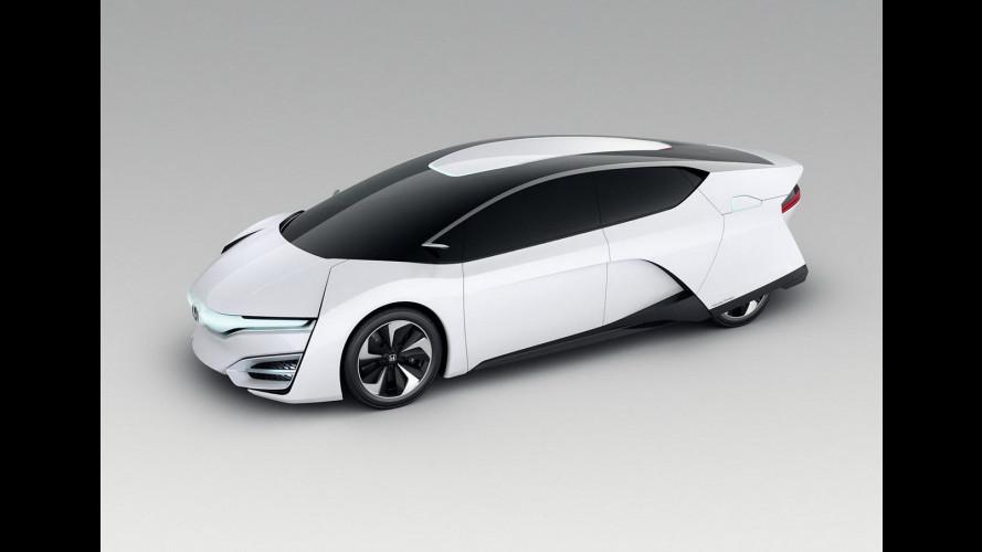 Honda FCEV concept: l'auto a idrogeno sarà così