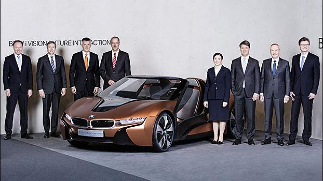 [Copertina] - BMW: in arrivo X7, MINI ibrida plug-in e i8 roadster