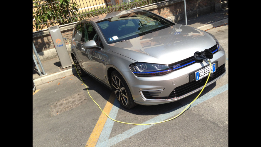 Volkswagen Golf GTE, la prova dei consumi reali