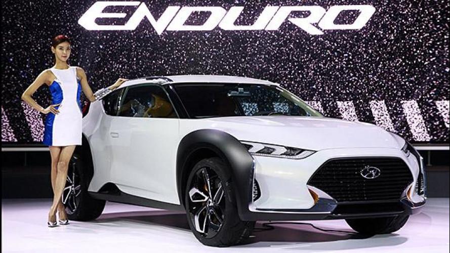 Hyundai Enduro, compatta e grintosa