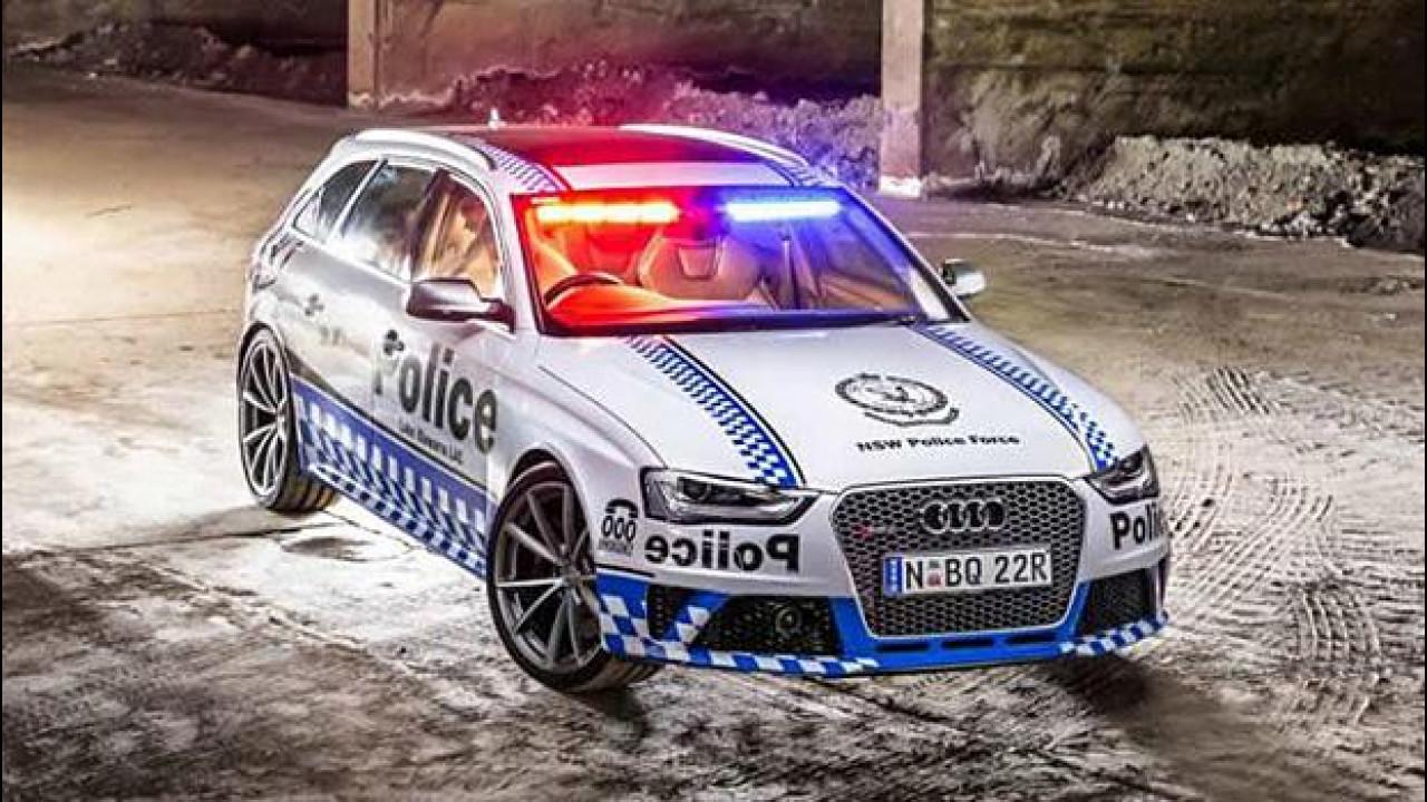 [Copertina] - Audi RS 4 Avant, 450 CV in divisa