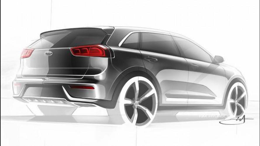 Kia Niro, nasce l'Hybrid Utility Vehicle