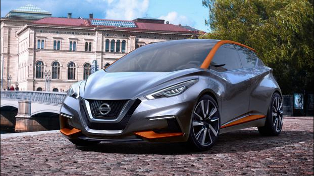 [Copertina] - Nissan Sway concept, la Micra del futuro