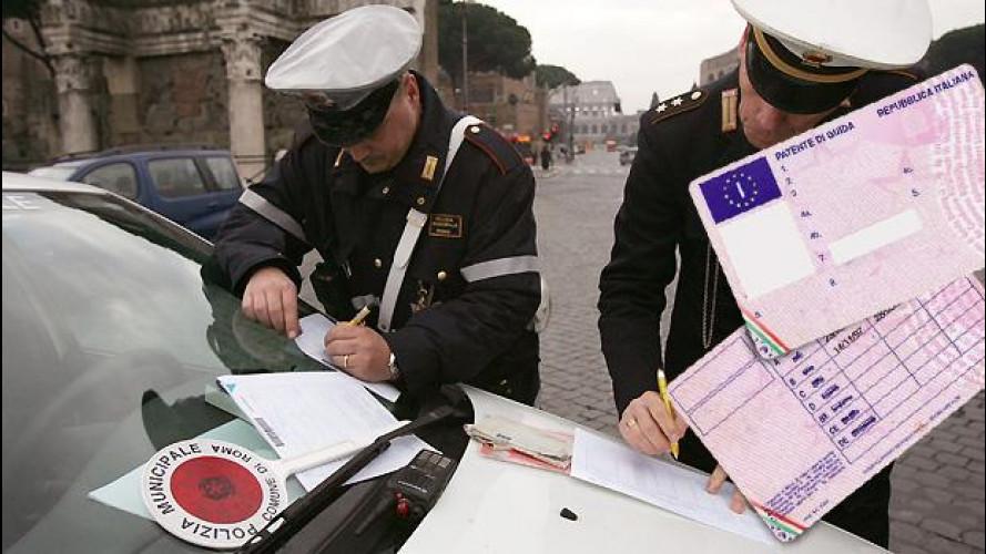 Guida senza patente, ecco le prime indicazioni operative