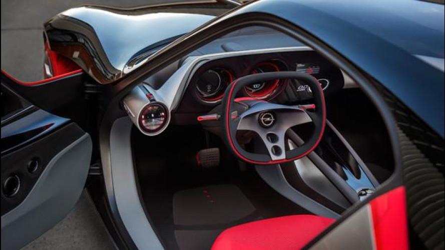 Opel GT Concept, all'interno il futuro incontra gli Anni '60