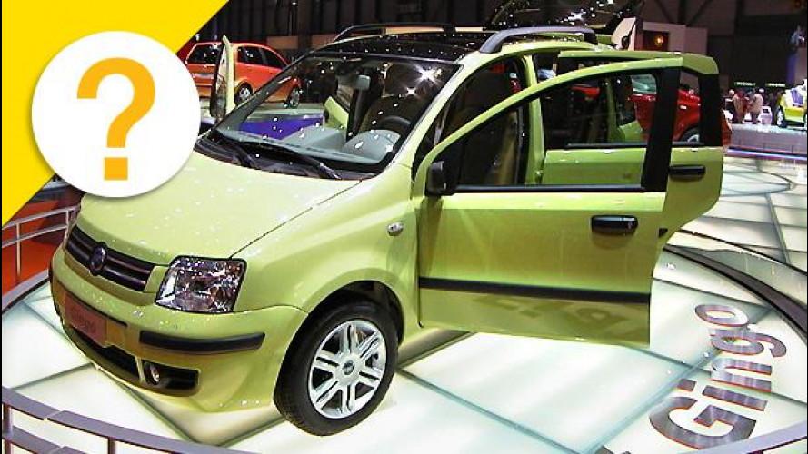Quando la Fiat Panda si chiamava... Gingo
