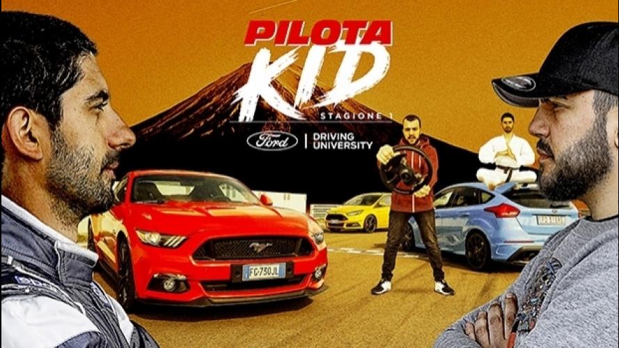 Pilota Kid, l'arte (marziale) della guida sportiva