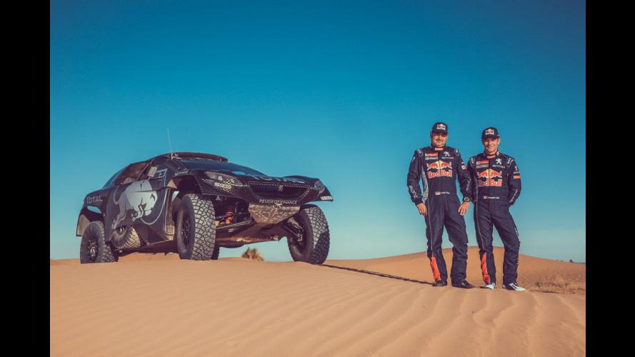 Peugeot, Sébastien Loeb è alla Dakar 2016