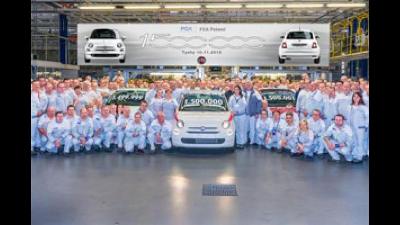 [Copertina] - Fiat 500 festeggia il milione e mezzo di esemplari