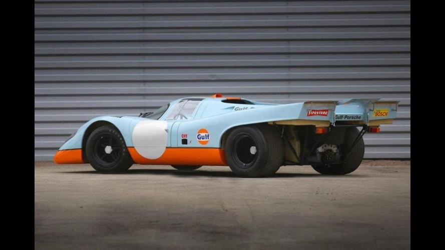 Porsche 917K, all'asta quella di Steve McQueen