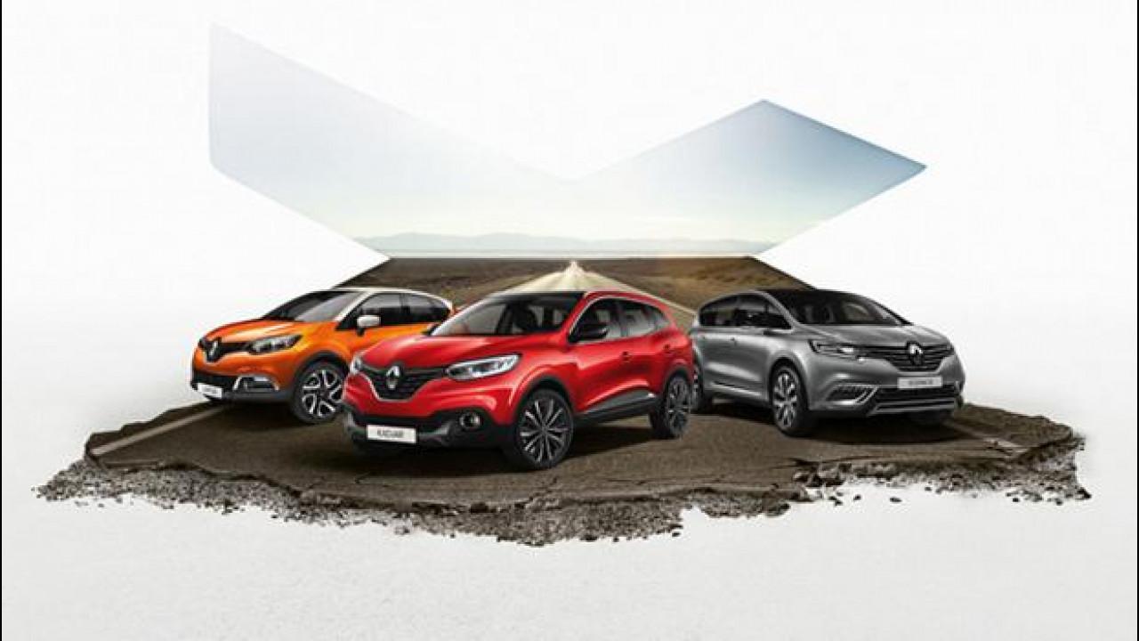 [Copertina] - Renault, partito da Ostia il Crossover Summer Tour