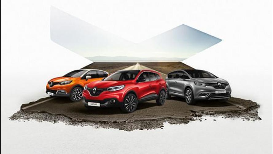Renault, partito da Ostia il Crossover Summer Tour