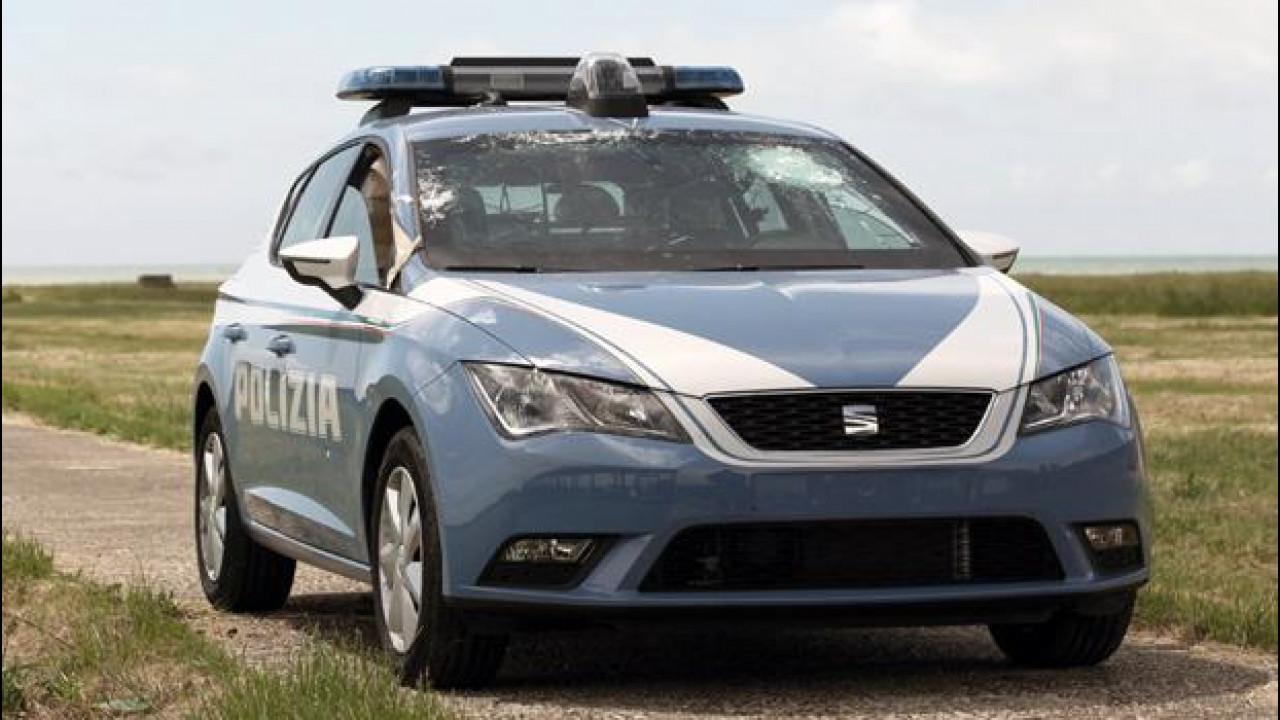 [Copertina] - Seat Leon Polizia e Carabinieri alla prova anti-proiettile [VIDEO]
